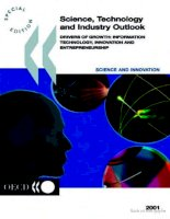 science technology and industry outlook drivers of growth doc