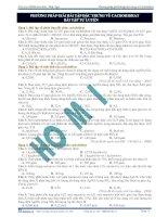 Phương pháp giải các bài tập đặc trưng về cacbohidrat - bài tập tự luyện pot