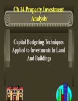 Property Investment Analysis docx