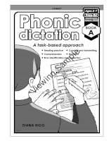 phonic dictation book a