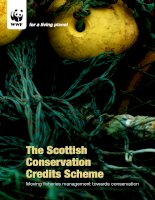 The Scottish Conservation Credits Scheme - Moving fisheries management towards conservation docx