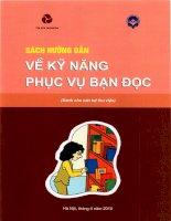 Sách hướng dẫn về kỹ năng phục vụ bạn đọc