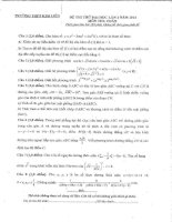 đề thi thử môn toán trường kim liên hà nội 2014