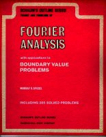 theory and problems of fourier analysis with applications to boundary value problems - spiegel