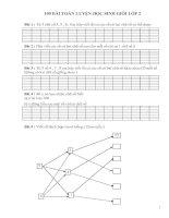 100 bài toán ôn luyện học sinh giỏi lớp 2