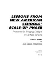 Lessons From New American Schools'''' Scale-Up Phase pdf