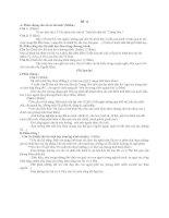 Đề thi thử tốt nghiệp THPT môn Ngữ Văn - Đề số 67 pdf