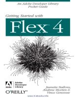 Getting Started with Flex™ 4 ppt