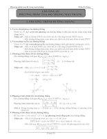 bài tập tự luận hình học 10 chương 3 - trần sĩ tùng