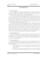 Đề tài: Giải pháp nâng cao chất lượng phục vụ của khách sạn Hương Sen pdf