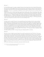 Viết đoạn văn về một trận thi đấu thể thao - văn mẫu