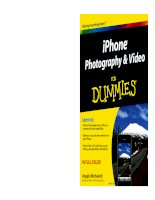 iPhone Photography and Video For Dummies pdf
