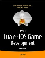 Learn Lua for iOS Game Development ppt
