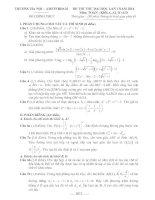 đề thi thử đại học lần 1 môn toán năm 2014 - trường hà nội - amsterdam
