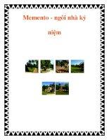 Memento - ngôi nhà kỷ niệm pot