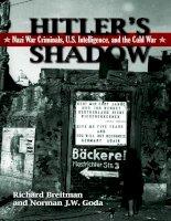 Hitler''''s Shadow - Nazi War Criminals, U.S. Intelligence, And The Cold War pdf