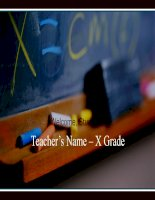 Mẫu PowerPoint dành cho học sinh-sinh viên
