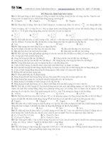 Bài tập bảo toàn lớp 10 pot
