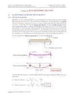 Tài liệu cao học - kết cấu bê tông cốt thép chương 4