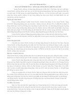 BÀI TẬP TÌNH HUỐNG 1: JETSTAR- HÃNG HÀNG KHÔNG GIÁ RẺ