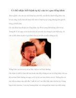 Có thể nhận biết bệnh tự kỷ của trẻ qua tiếng khóc ppt