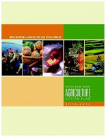 IMPLEMENTING AGRICULTURE FOR DEVELOPMENT - World Bank Group Agriculture Action Plan: FY2010–2012 pot