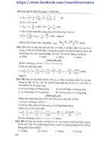 cẩm nang luyện thi đại học vật lí theo từng chuyên đề và hướng dẫn giải chi tiết bài tập tương ứng (tập 1)-lê văn vinh part 2