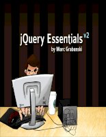 jQuery Essentialsby Marc Grabanskiv2.We needed a hero to get these guys in line.jQuery ppt