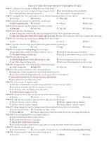100 câu hỏi từ vi mô đến vĩ mô