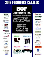 2013 FURNITURE CATALOG Associates Inc. BOF ppt