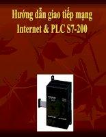 Hướng dẫn giao tiếp mạng Internet & PLC S7-200 doc