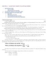 Thống kê hóa học và ứng dụng tin học trong hóa học docx
