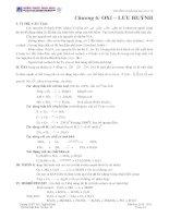 Tóm tắt lý thuyết hoá học vô cơ 10 Chương 6: OXI – LƯU HUỲNHI. pot