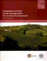 integrated soil and water management for orchard development potx
