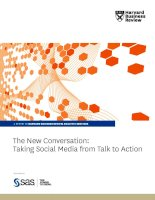 The New Conversation: taking Social Media from talk to action pptx
