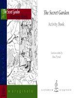 The secret garden activity book