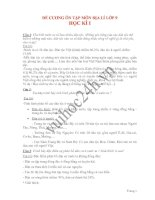 ĐỀ CƯƠNG ÔN TẬP MÔN ĐỊA LÍ LỚP 9 HỌC KÌ I pot