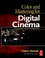 Color and Mastering for Digital Cinema pot