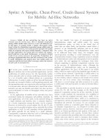 Sprite: A Simple, Cheat-Proof, Credit-Based System for Mobile Ad-Hoc Networks potx