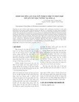 Đánh giá hiệu lực của chế phẩm vi sinh có định đạm đối với cây đậu tương tại Sơn La pdf