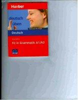 Fit in Grammatik A1-A2 pdf