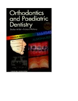 Orthodontics and Paediatric Dentistry: Colour Guide pptx