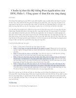 Chuẩn bị đưa lên Hệ thống PureApplication của IBM, Phần 1: Tổng quan về đưa lên các ứng dụng pptx