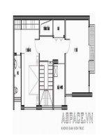 Thiết kế nhà ở kết hợp ki-ốt trên đất 5 x 16m pot