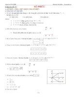 Bài tập số phức
