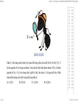 Bài giải chi tiết đề thi thử đại học KHTN môn hóa