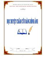 HỌC HUYỆT CHÂM CỨU BẰNG HÌNH ẢNH - TRƯỜNG TRUNG CẤP Y DƯỢC BẮC GIANG - BS.CKH. TRƯƠNG TẤN HƯNG pdf