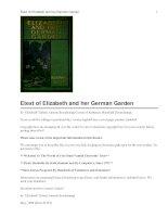Elizabeth and her German Garden ppt