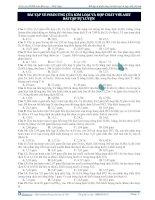 Bài tập về phản ứng của kim loại và hợp chất với axit - bài tập tự luyện doc