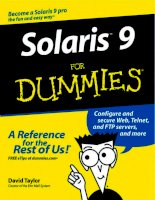 Solaris 9 for dummies (2003)